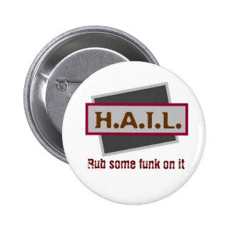 HAIL Badge Pinback Button