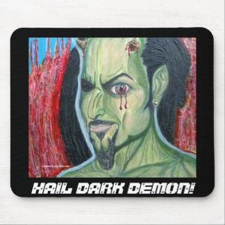 HAIL DARK DEMON! Mousepad Framed.