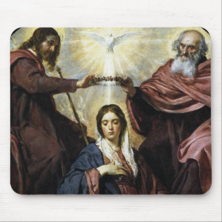 HAIL HOLY QUEEN MOUSE PAD