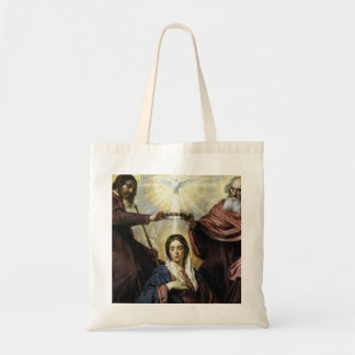 HAIL HOLY QUEEN TOTE BAG