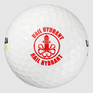 Hail Hydrant Golf Balls