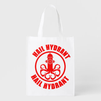 Hail Hydrant Reusable Grocery Bag