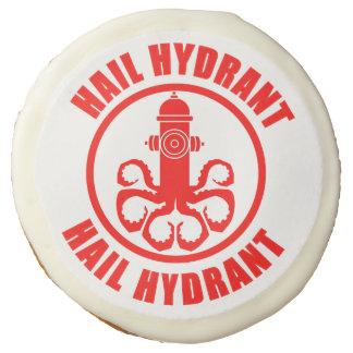 Hail Hydrant Sugar Cookie