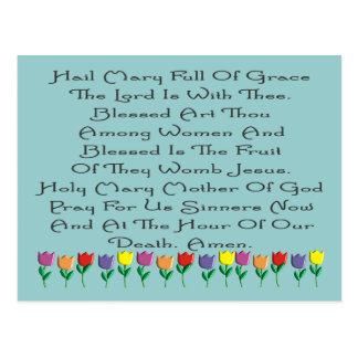Hail Mary Catholic Prayer Gifts & Cards