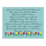 Hail Mary Catholic Prayer Gifts & Cards Post Card