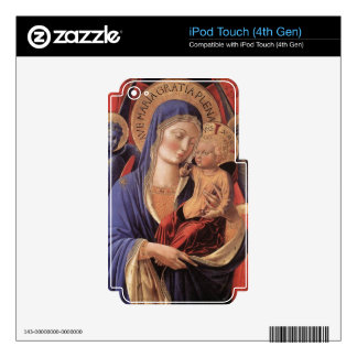 HAIL MARY FULL OF GRACE DECALS FOR iPod TOUCH 4G
