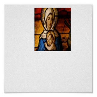 Hail Mary Icon Poster