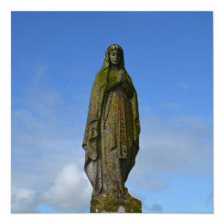 Hail Mary 5.25x5.25 Square Paper Invitation Card