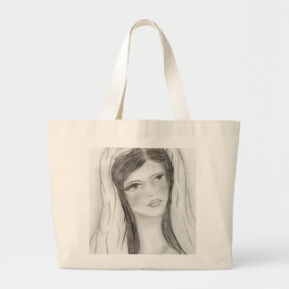 Hail Mary Large Tote Bag