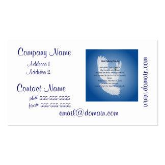 Hail Mary Prayer Business Cards