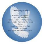 Hail Mary Prayer Stickers