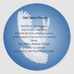 Hail Mary Prayer Stickers