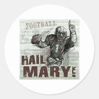 Hail Mary! Sticker