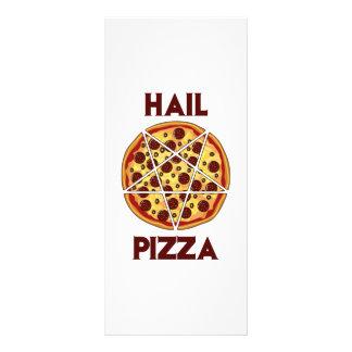 Hail Pizza Customized Rack Card
