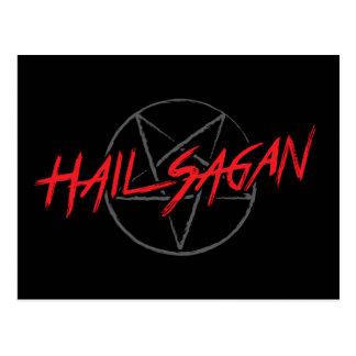 Hail Sagan Postcard