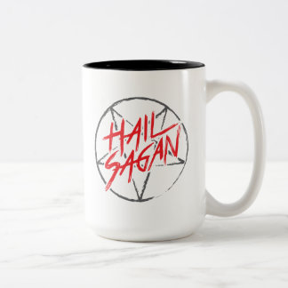 Hail Sagan Two-Tone Coffee Mug