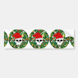 hail santa bumper sticker