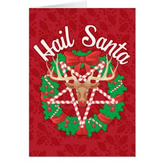 Hail Santa! Card