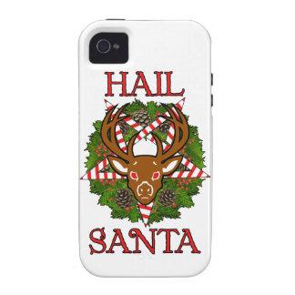 Hail Santa iPhone 4/4S Cases
