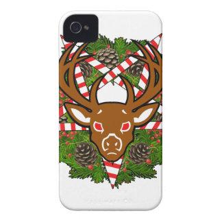 Hail Santa iPhone 4 Cover