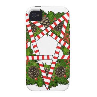 Hail Santa Vibe iPhone 4 Cases