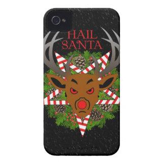 Hail Santa iPhone 4 Case-Mate Case