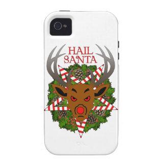 Hail Santa iPhone 4 Cases