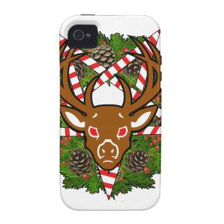 Hail Santa iPhone 4/4S Covers