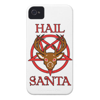Hail Santa Case-Mate iPhone 4 Cases