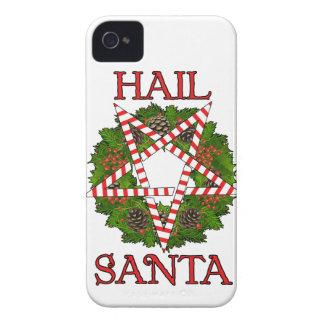 Hail Santa iPhone 4 Case