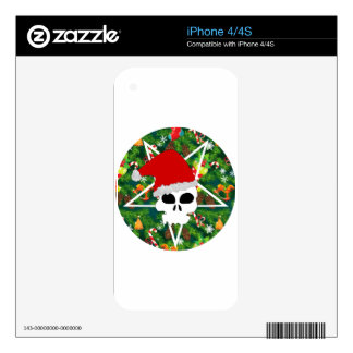 hail santa decal for the iPhone 4S