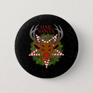Hail Santa Pinback Button