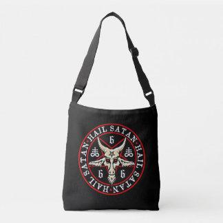 Hail Satan Baphomet Goat of Mendes Crossbody Bag