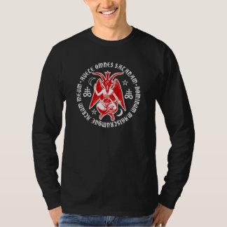 Hail Satan Baphomet with Satanic Crosses Shirts