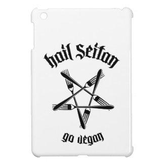 Hail Seitan 1 1 black iPad Mini Cover