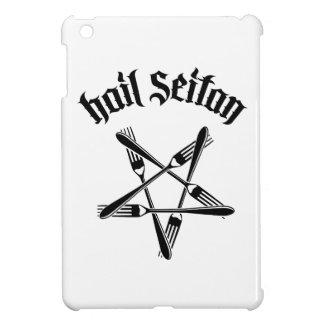 Hail Seitan 1 2 black iPad Mini Cases