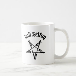 Hail Seitan 1.2 (black) Coffee Mugs