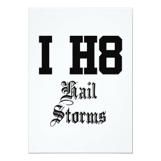 hail storms card