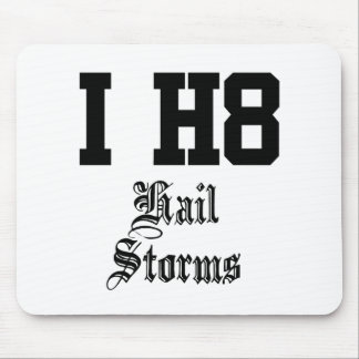 hail storms mouse pad
