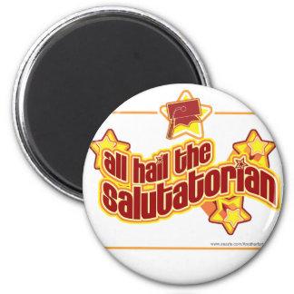 Hail the salutatorian magnet