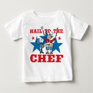 Hail To The BBQ Chef Baby T-Shirt