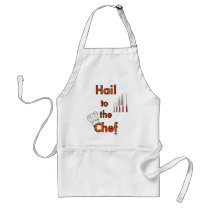 Hail To The Chef Adult Apron