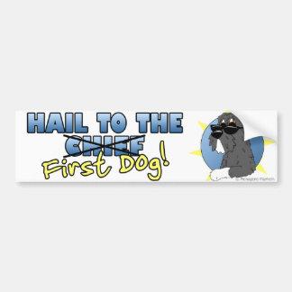 Hail to the First Dog Bumper Sticker