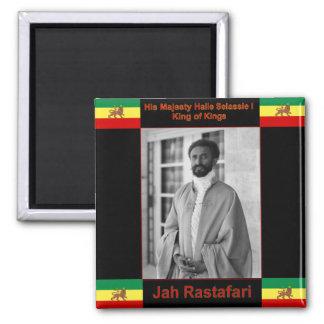 Haile Selassie el león de Judah, Jah Rastafari Imán Cuadrado