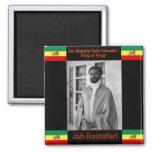 Haile Selassie el león de Judah, Jah Rastafari Imán Para Frigorifico