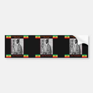 Haile Selassie el león de Judah, Jah Rastafari Pegatina Para Auto