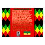 Haile Selassie Famous War Speech to UN 1963 Greeting Card