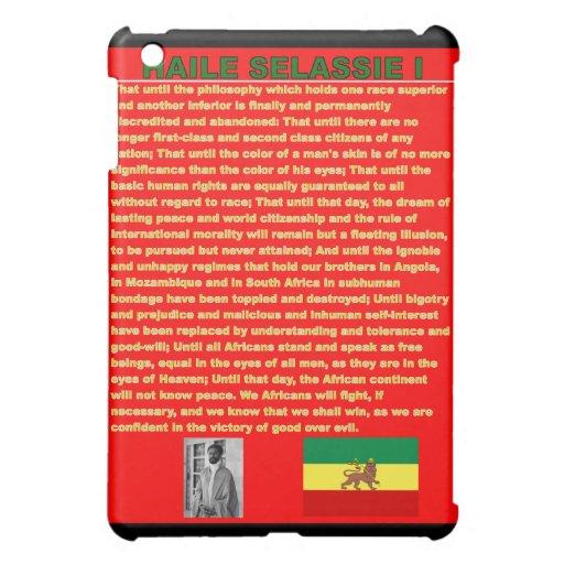 Haile Selassie Famous War Speech to UN 1963 Cover For The iPad Mini