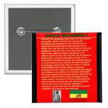 Haile Selassie Famous War Speech to UN 1963 Pins