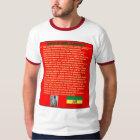 Haile Selassie Famous War Speech to UN 1963 T-Shirt